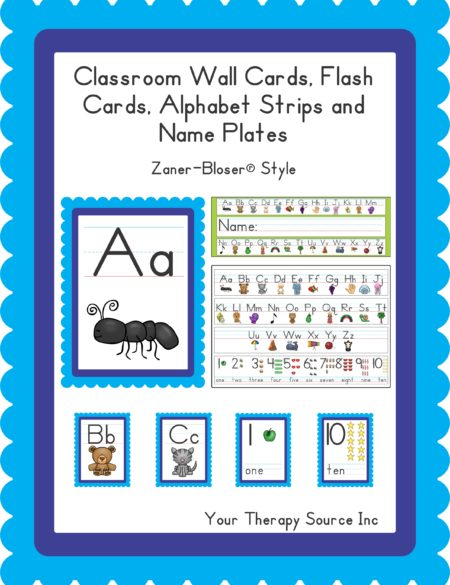 Handwriting Activities - Your Therapy Source