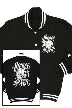 Falling In Reverse Logo Wallpaper Pierce The Veil Merch Store Gypsy Girl Varsity Jacket