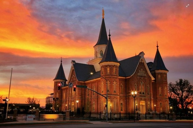 Fall Cell Phone Wallpaper Photos Of Provo City Center Temple At Sunset Go Viral
