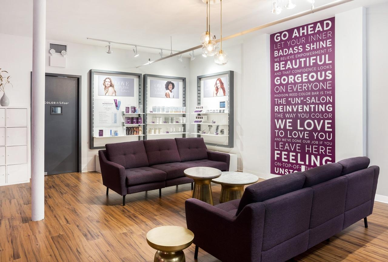 Colores Salon Madison Reed Color Bar New York In The Flatiron District