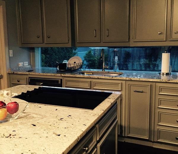 genius kitchen designs ll create home glass tile backsplash slightly glitzier alternative
