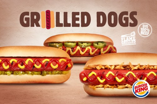 Medium Of Burger King Hot Dogs