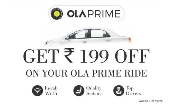 Women's Day Special: 50% off on your Ola Prime ride
