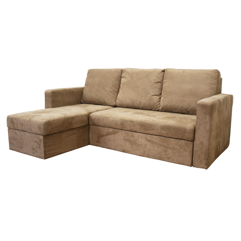Leather Double Sleeper Sofa