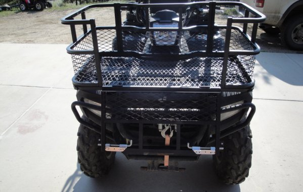 Front Gate Atv Dog Box By Dusty Dawgs
