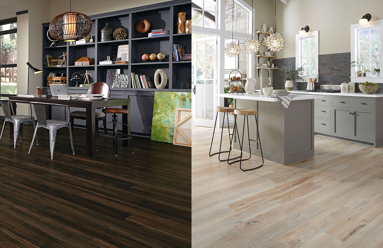 Hardwood Flooring : Dark vs. Light - Coles Fine Flooring