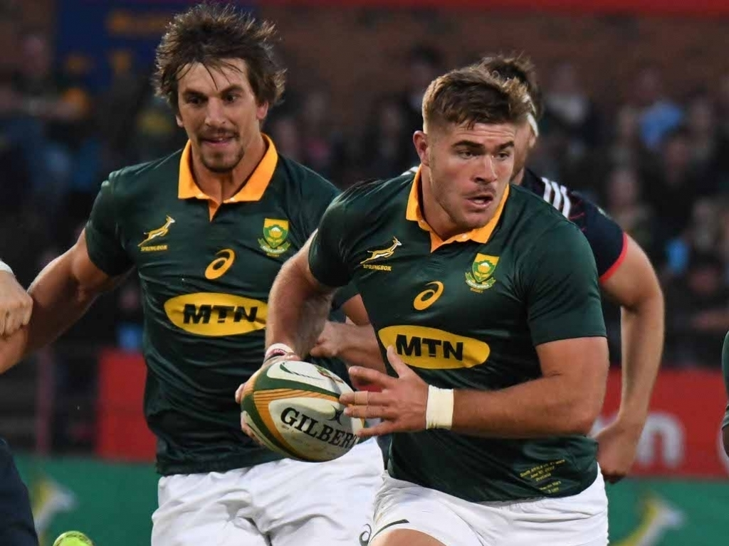 Springbock Hocker Springboks Sweating On Etzebeth And Marx