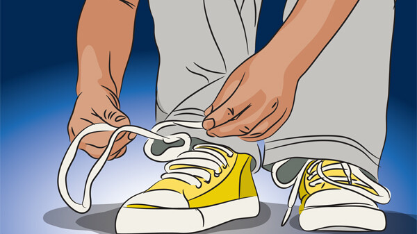 Tying Shoes Clipart All New Shoes