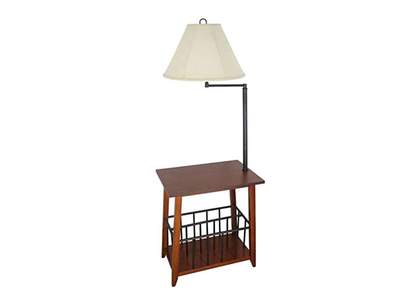 Berkley Magazine Rack Lamp