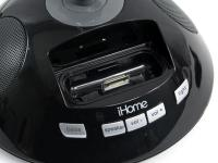 iHome Halogen Desk Lamp with iPod Dock and Speakers