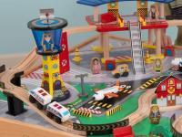 KidKraft Airport Express Train Table Set - Kids.Woot