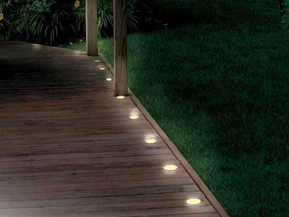 Solar Deck And Path 5 Light String
