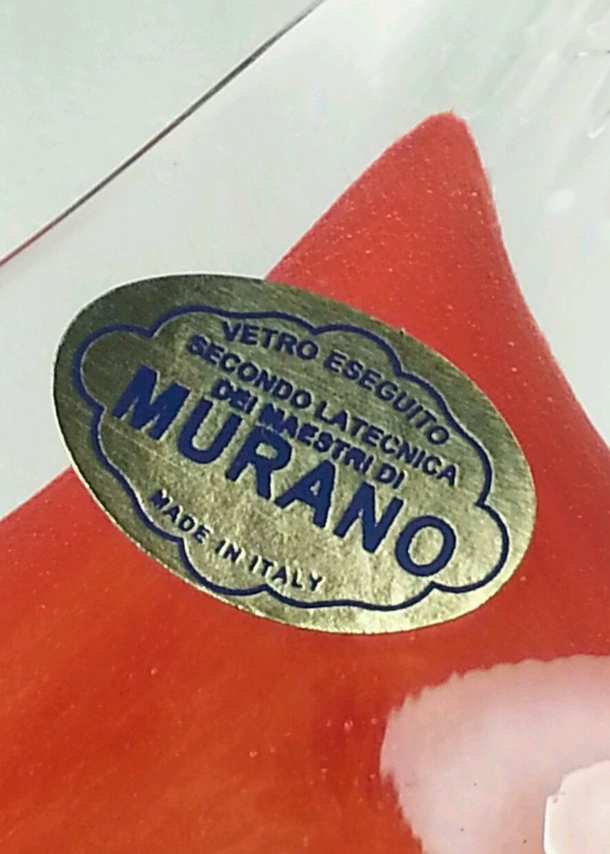 Vase De Murano Murano Labels Collectors Weekly