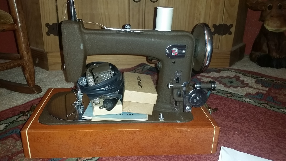 Fullsize Of Montgomery Ward Sewing Machine