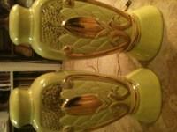 Corn motif lamps | Collectors Weekly
