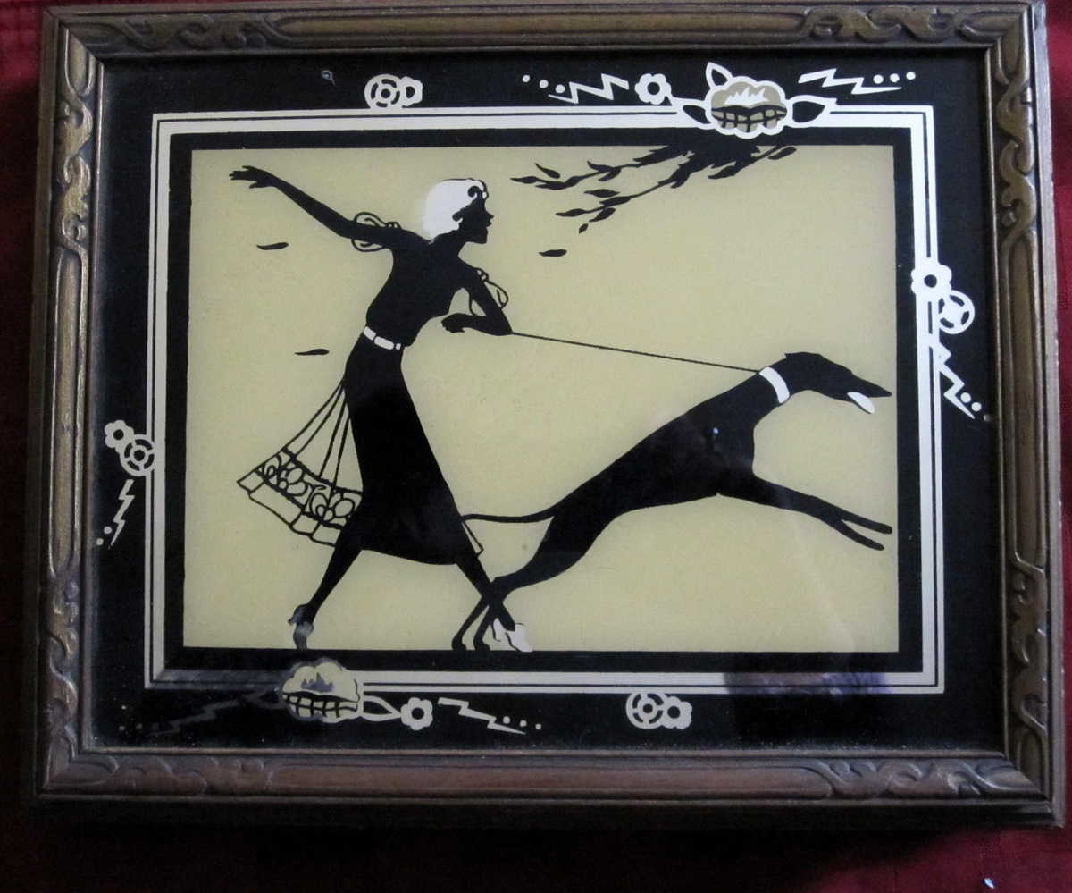 Art Deco Style Jewelry Boxes Art Deco Silhouette Jewelry Box Collectors Weekly