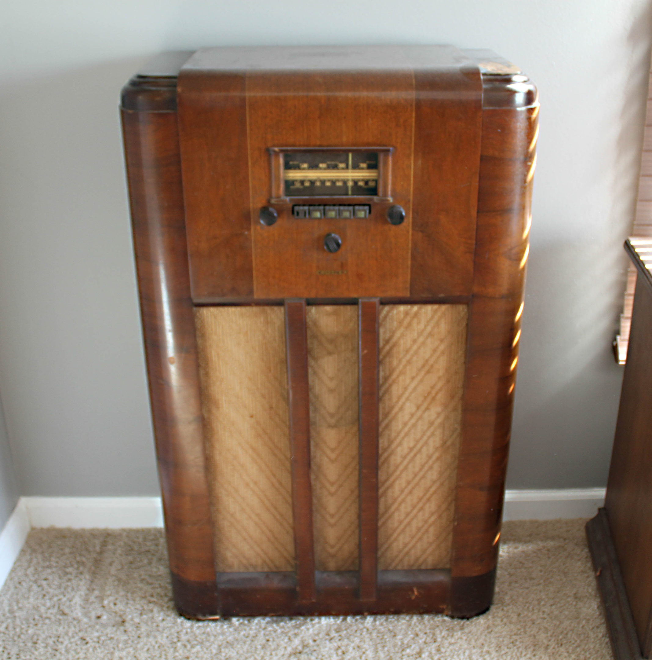 Crosley Radio Crosley Radio Model 5539m Collectors Weekly