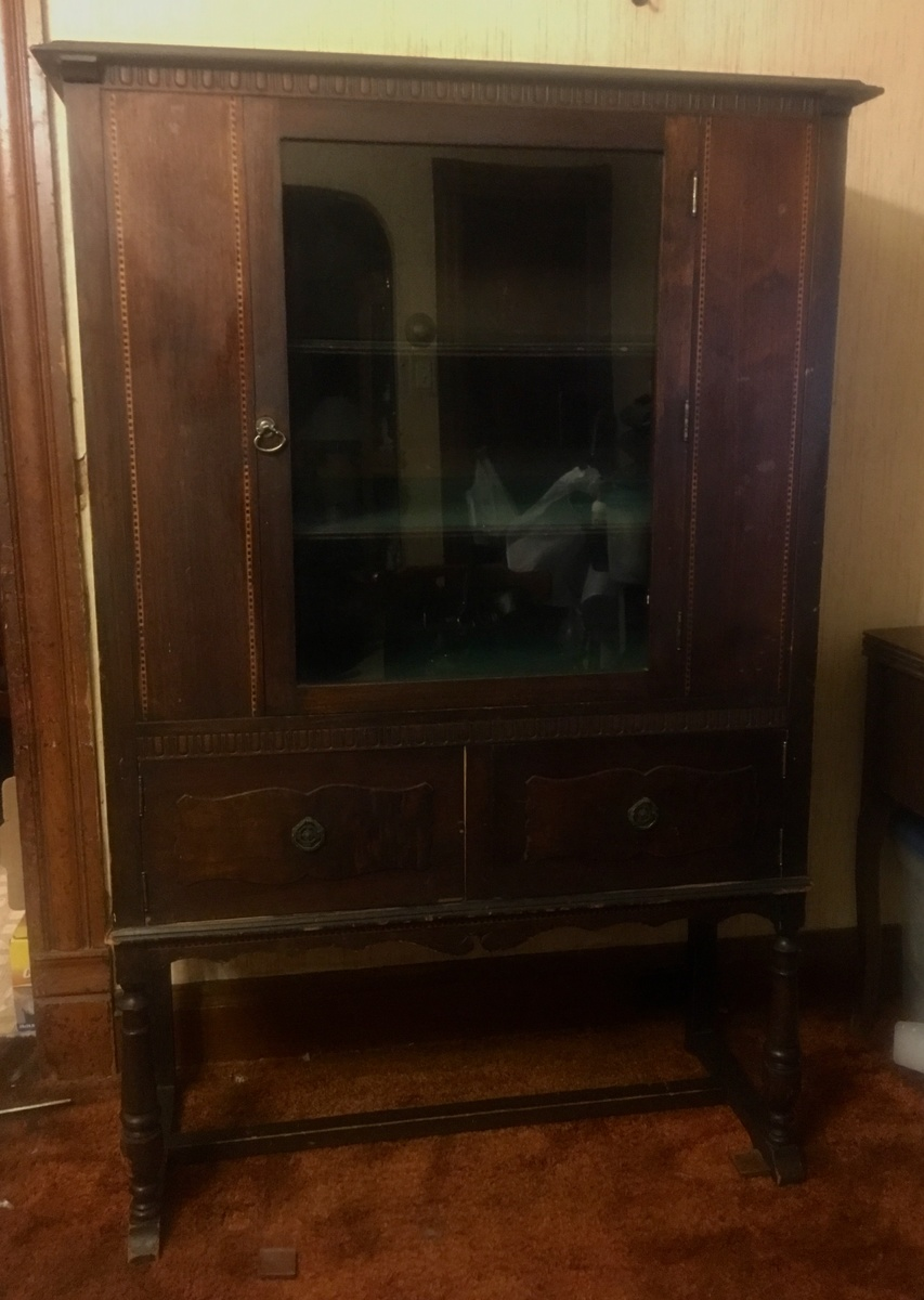 Hunington Furniture Empire Furniture China Cabinet Collectors Weekly