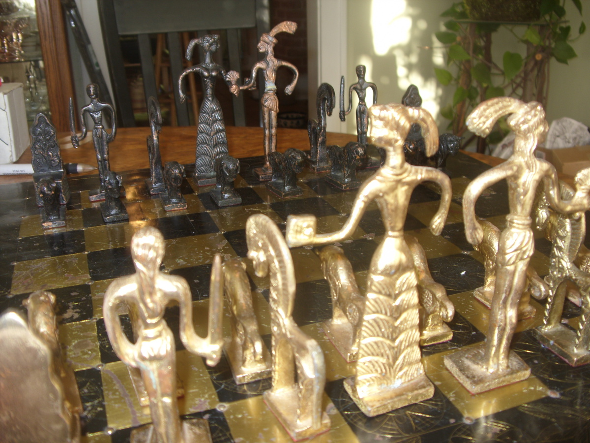 Collectors Chess Sets Incredible Antique Chess Set Collectors Weekly