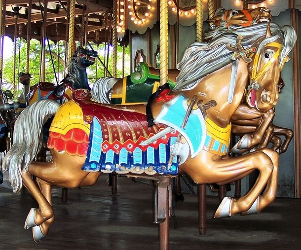 Where Have The Carousel Animals Gone Antique Merry Go