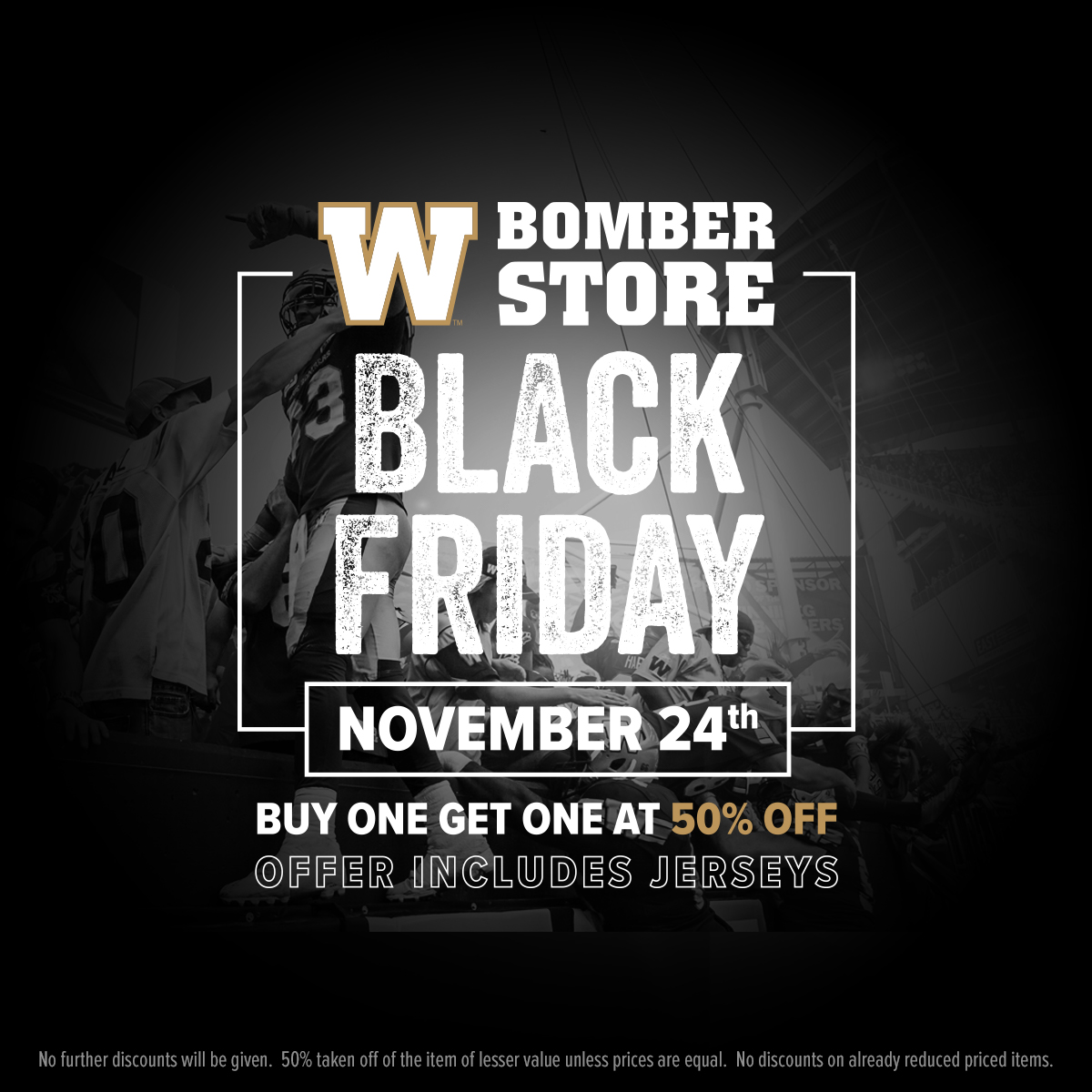 Black Friday Sale 2017 Black Friday Sale Winnipeg Blue Bombers