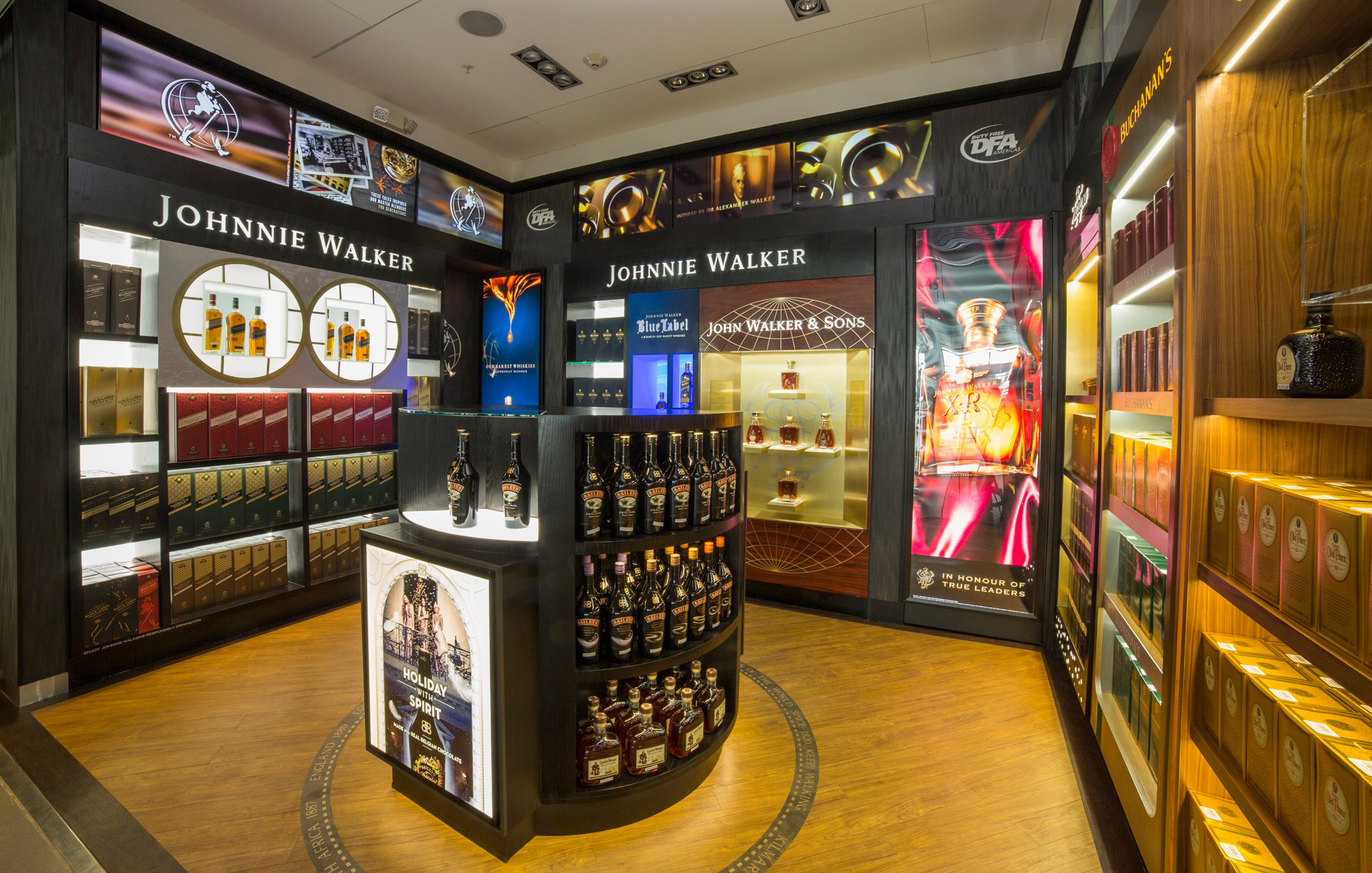 Boutique Free Tours Diageo Gtme Opens Exclusive Store At El Dorado Airport