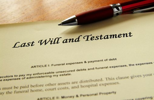 Create and update your will for free