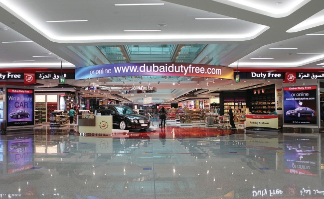 Dubai Duty Free Invests In Digital Signage
