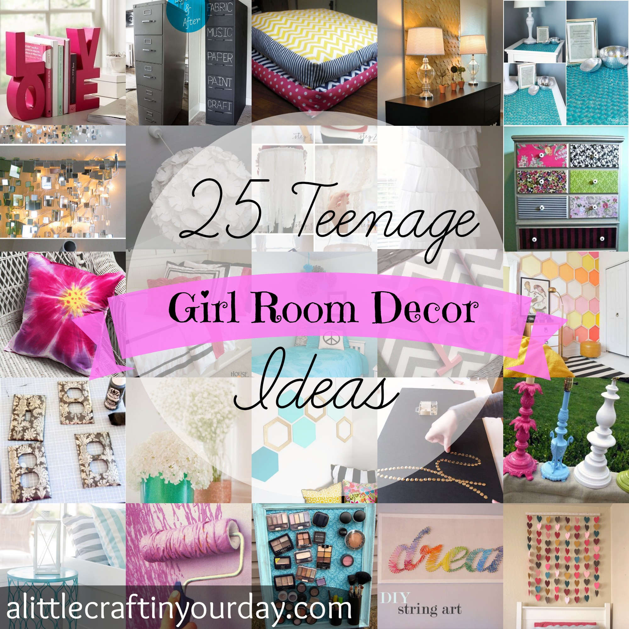 Image Room Decoration 25 Teenage Girl Room Decor Ideas A Little Craft In Your Day