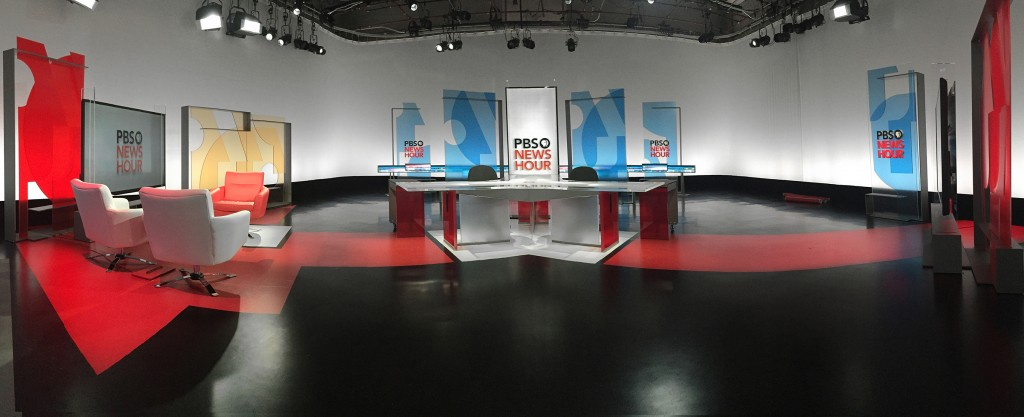 Lounge Set Pbs Newshour To Unveil New Set, Graphics, And Music On