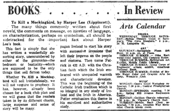 How newspapers reviewed \u0027To Kill A Mockingbird\u0027 in 1960 PBS NewsHour