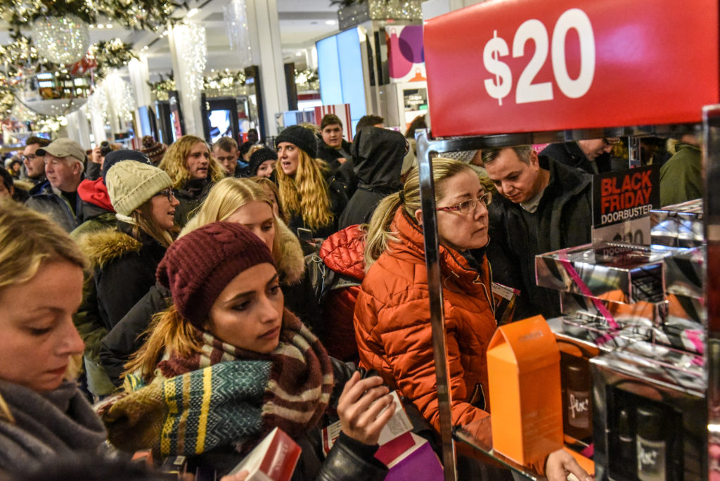 In Era Of Online Retail Black Friday Still Lures A Crowd