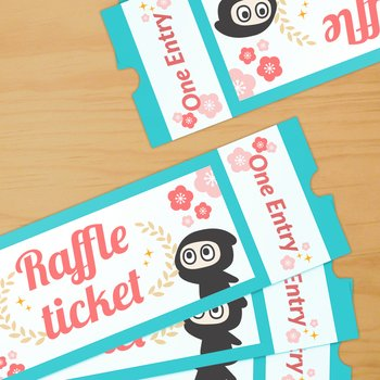 RAFFLE TICKET Blind Box Special w/ Tons of Winners! Tokyo Otaku