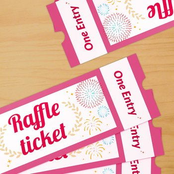 RAFFLE TICKET New Year\u0027s Countdown Edition Tokyo Otaku Mode Shop - raffle ticket
