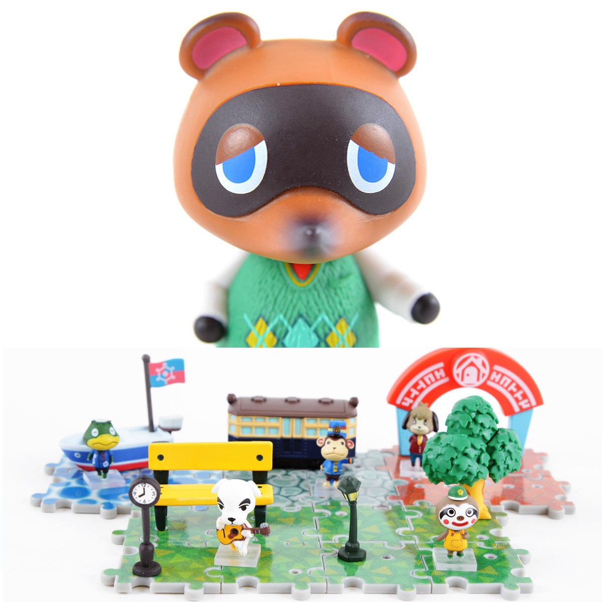 Amiibo Crossing Animal Crossing New Leaf Outing Collection Set Of 5 W Free Tom Nook Amiibo