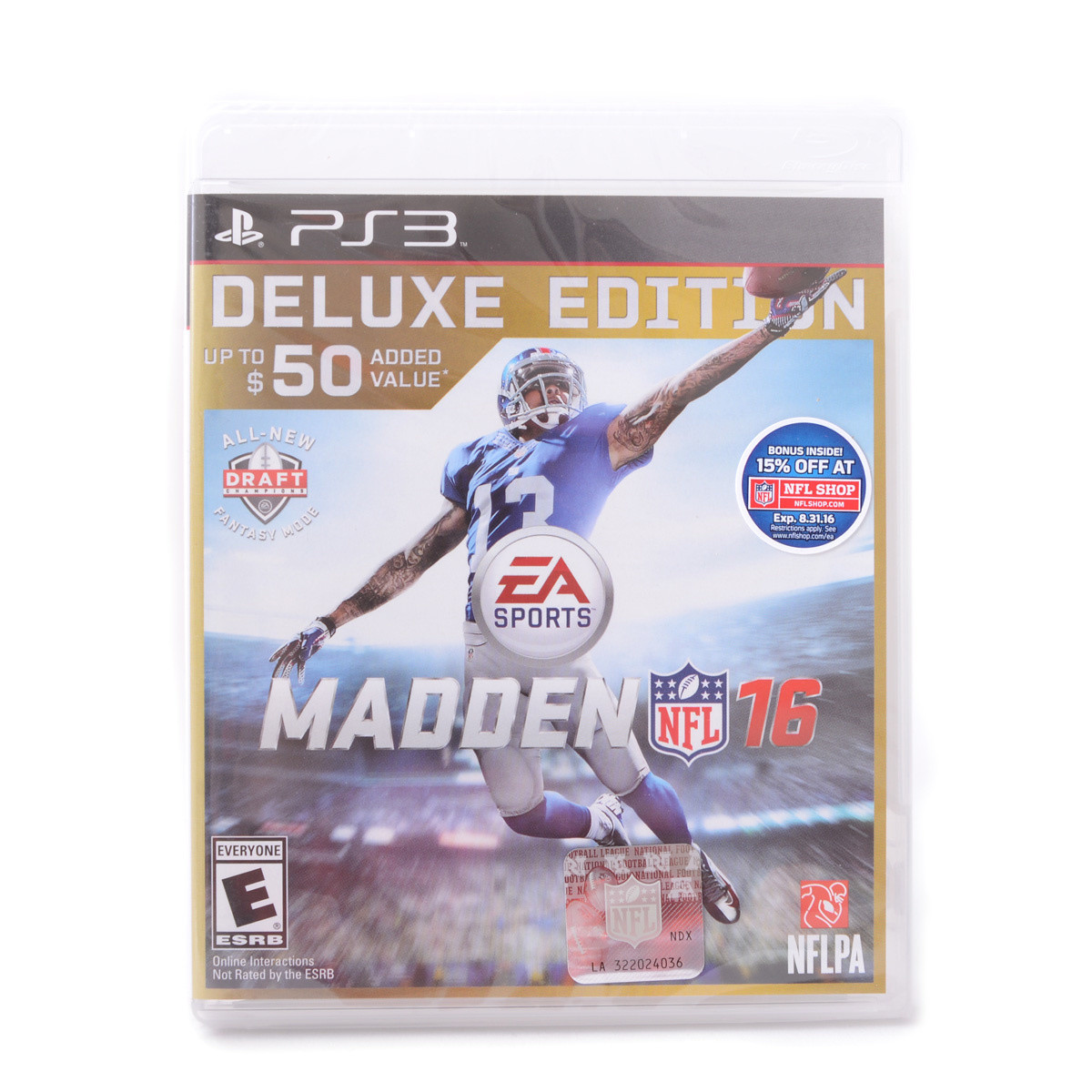 Edition For Ps3 Madden Nfl 16 Deluxe Edition Ps3