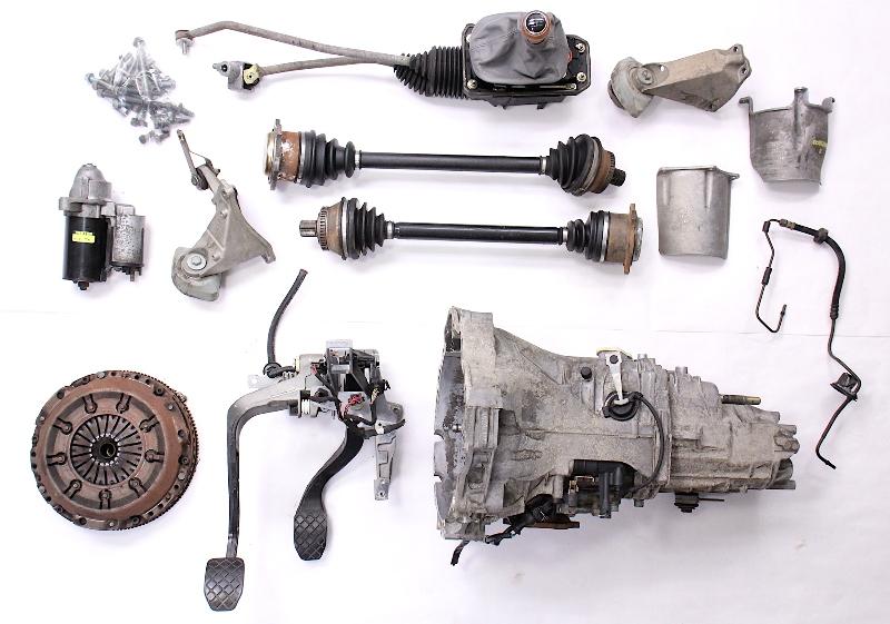 Manual Transmission Swap Parts Kit 98-05 Audi A4 Passat B5 V6 DVZ eBay