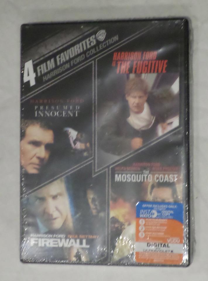 HARRISON FORD COLLECTION 4 FILM DVD PRESUMED INNOCENT FUGITIVE