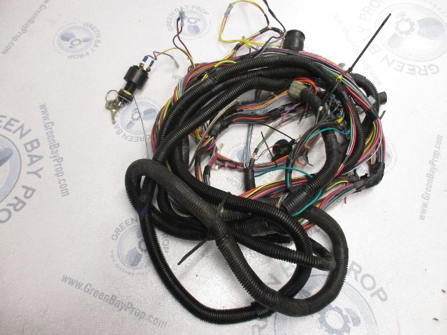 Volvo Penta SX 30 4 Cyl Engine to Dash Wire Harness 16 Ft Green
