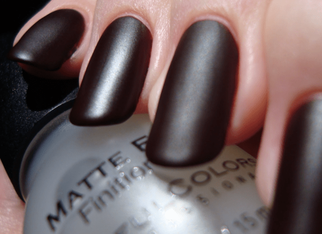 Matte Finish Clear Coat Nail Polish Hession Hairdressing