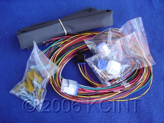 COMPLETE ULTIMA 18-530 ELECTRONIC WIRING HARNESS FOR HARLEY CUSTOM