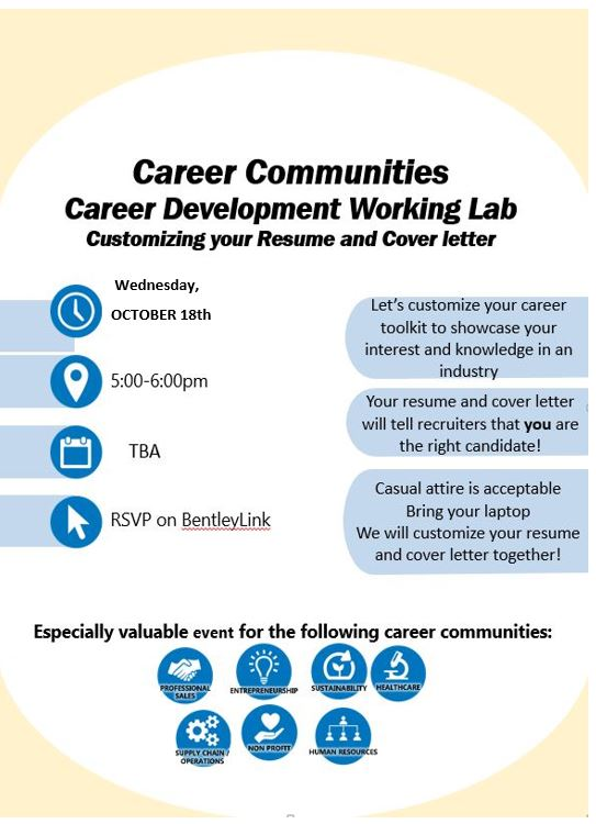 Career Communities Career Development Workshop/Customizing your - reasons why you should customize your cover letter