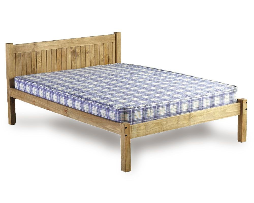 Double Mattress Mayan Double Bed Frame - Double Bed Frames - Bed Frames