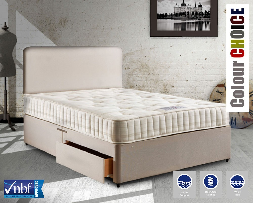 Double Divan Beds Lingfield Deluxe Double Divan Bed