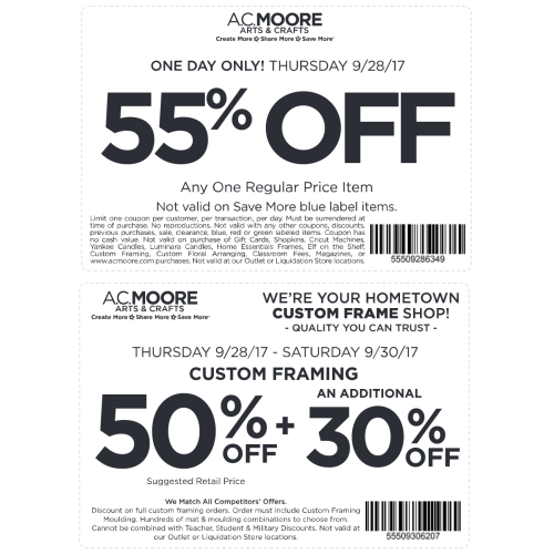 Ac Moore Frames In Mesmerizing Moore Coupon September 2018 Off A ...