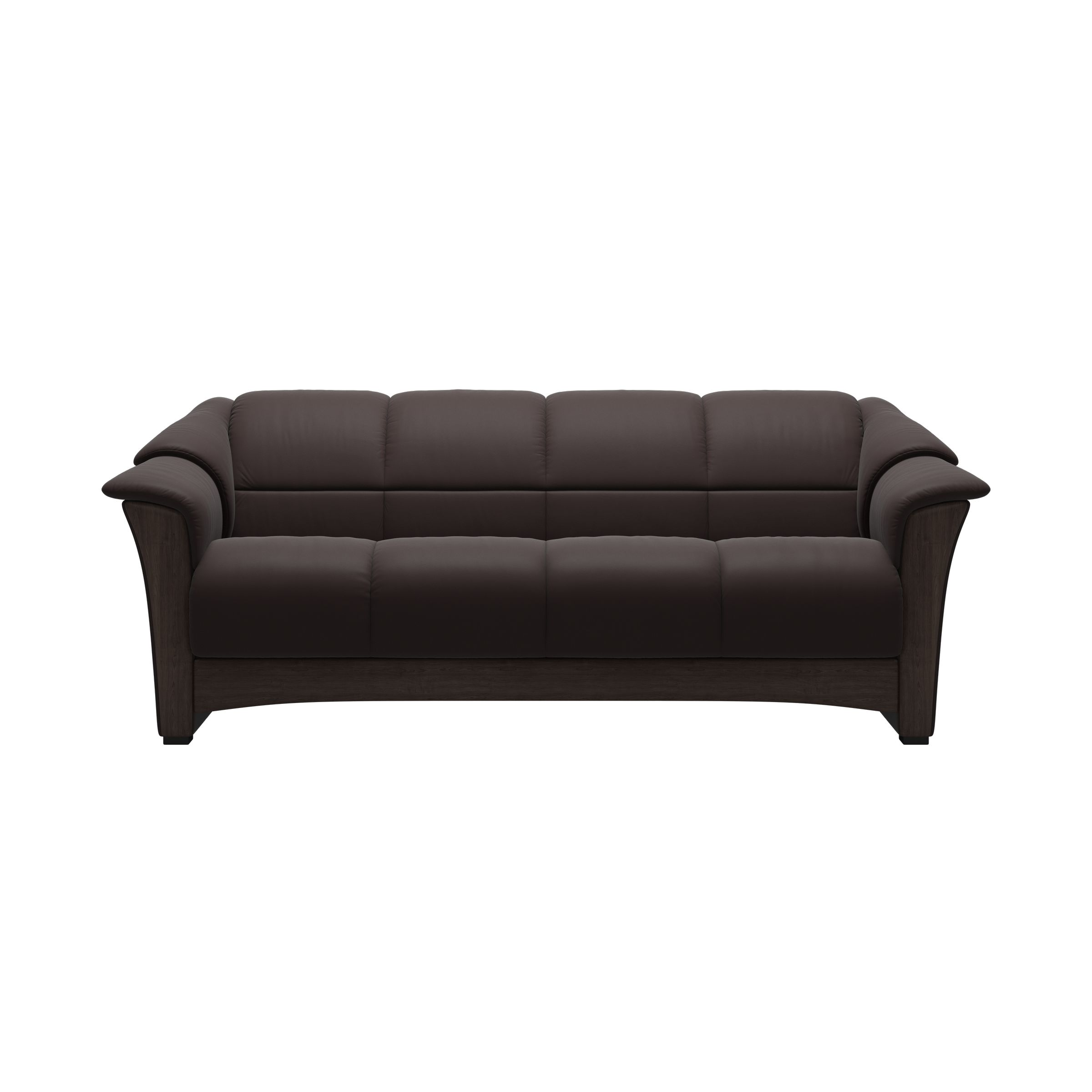 Dahlia 3 Seat Leather Sofa Ekornes Oslo Ekornes Collection Sofas