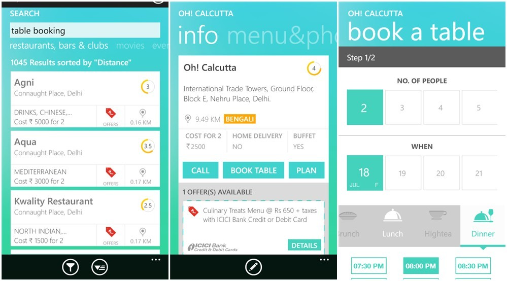 Create Restaurant App For Your Business and Grow Table Bookings - booking app