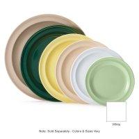 """GET DP-509-W 9""""Dinner Plate, Melamine, White, Supermel"""