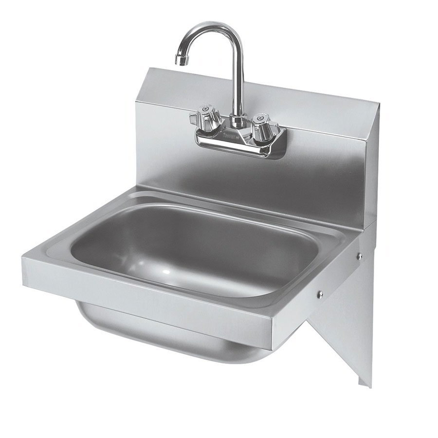 Krowne Hs 10 Wall Mount Commercial Hand Sink W 125quotl X 9