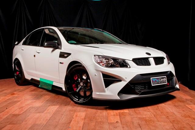 Holden Hsv Gtsr W1 Sells For Big Money At Lloyds